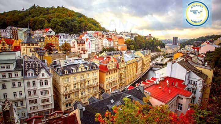 Charming KarlovyVary, Czech Republic